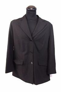 ULLA-POPKEN-Damen-Blazer-UP-Gr-48-Schwarz-Jacke-Business-Freizeit-guter-Zustand