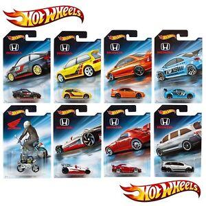 Hot-Wheels-Honda-70-coches-de-metal-Diecast-aniversario-elegir-Surtido-Escala-1-64