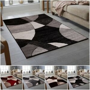 Luxury Thick Modern Red Rugs Large Floor Carpet Rug Mat Super Soft Non Slippery