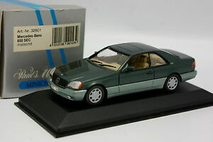 Minichamps-1-43-Mercedes-600-SEC-Verte