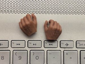 1//6 Scale WorldBox HAIRY Male Body Parts Hand KUNG FU Hand GRIP Toy F 12/'/' Doll