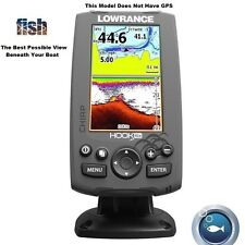 Lowrance High-Resolution HOOK-4x-CHIRP Fishfinder: Excellent Target Seperation