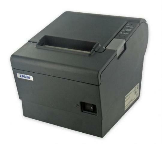 - NEW Epson M244A TM-T88V POS Thermal Receipt Printer W/ ADAPTER (USB/Network)