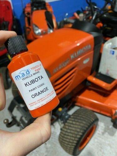 Kubota Compact Tracteur Mini Digger Orange Tactile à Peinture BX2200 BS2530 KX61
