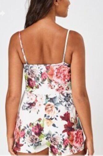 Diva Trend Scuba Print taglia 8 Playsuit Floral Emily Multi Uk OpwRXqfwv