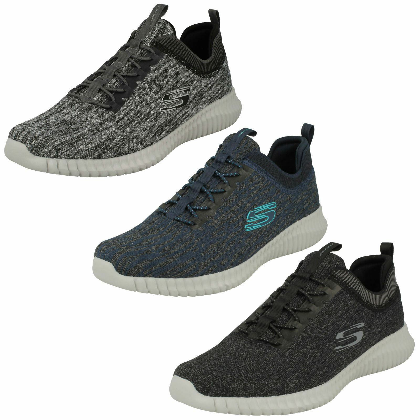 'Mens Skechers' Casual Memory Foam Trainers - Hartnell 52642