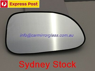 RIGHT DRIVER SIDE DAEWOO LACETTI J200 2003-2005 MIRROR GLASS WITH BASE