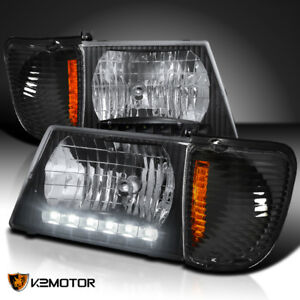 Image Is Loading 92 06 E150 E250 Econoline Van Led Headlights