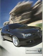Alfa Romeo 156 SW Sportwagon Facelift 2004 1.8 2.0 JTS 1.9 2.4 JTD Ti Brochure