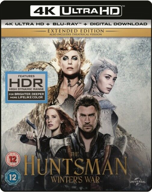 The Huntsman - Winters Guerra 4K Ultra HD Nuovo 4K UHD (8309313)