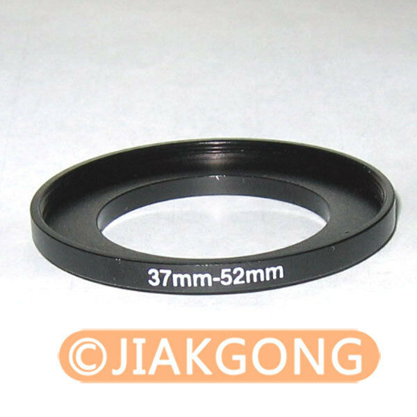 37mm-52mm 37-52 mm 37 to 52 Step Up Ring Filter Adapter