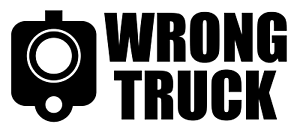 Outdoors WRONG TRUCK Vinyl Decal JDM Decal for Truck Bumper Sticker Windows