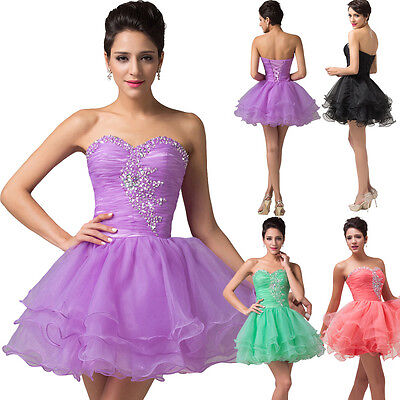 Short Formal Prom Dress Cocktail Bridesmaids Evening Party GRADUATION HOMECOMING