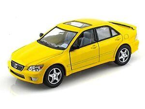 Kinsmart-Lexus-IS300-Sedan-1-36-scale-diecast-model-car-Toy-5-034-5046D-Yellow
