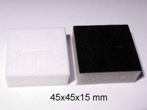 24 x Jewellery Pendant Black Boxes with Foam Insert FREE POST!