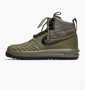 Details about 2017 Nike Lunar Air Force 1 Duckboot '17 SZ 10.5 Olive Green LF1 (916682 202)