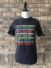Vintage 80s Bell Telephone People Do It Better T-Shirt Small 50/50 EUC