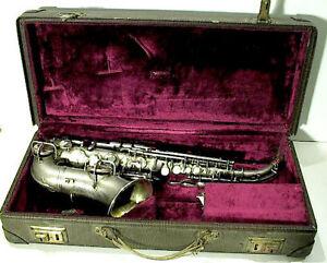 1920s silver selmer curved soprano saxophone ebay. Black Bedroom Furniture Sets. Home Design Ideas