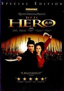NEW-DVD-HERO-QUENTIN-TARENTINO-MARTIAL-ARTS-CLASSIC-Jet-Li-Tony-Leung-Ch