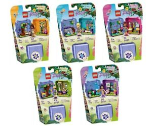 Lego Friends Play Cube Jungle Series - Set of 5 - 41434 ...