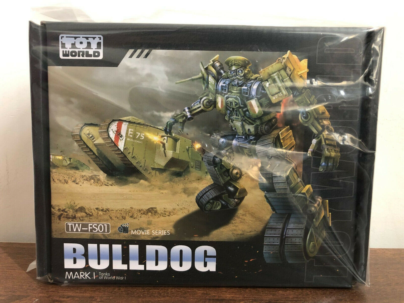 Transformers Toyworld TW-FS01 Bulldog SS Scale Alloy Old Paint