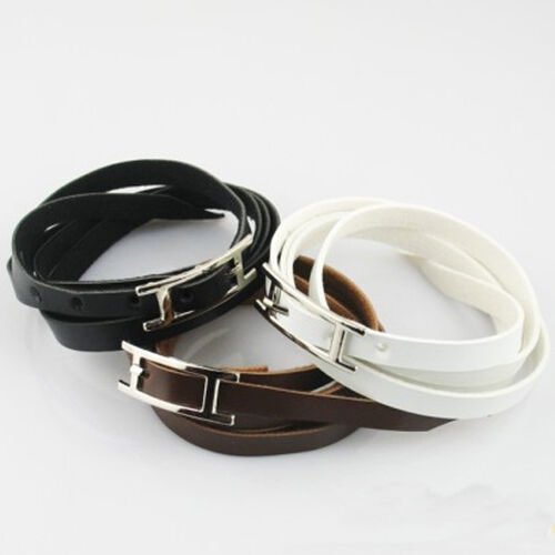 Bracelet multi-couche tissé faux cuir pour Femme