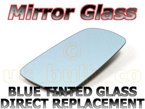 NEW Mirror Glass BLUE VW BORA Passenger side 98-/>