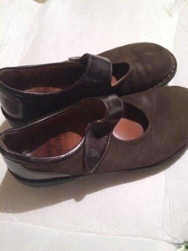 Finn Comfort Mary Jane Women's Size 38  Brown  Lea