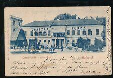 Hungary BUDAPEST Csaszar Furdo Kaiser Bad 1899 u/b PPC faults