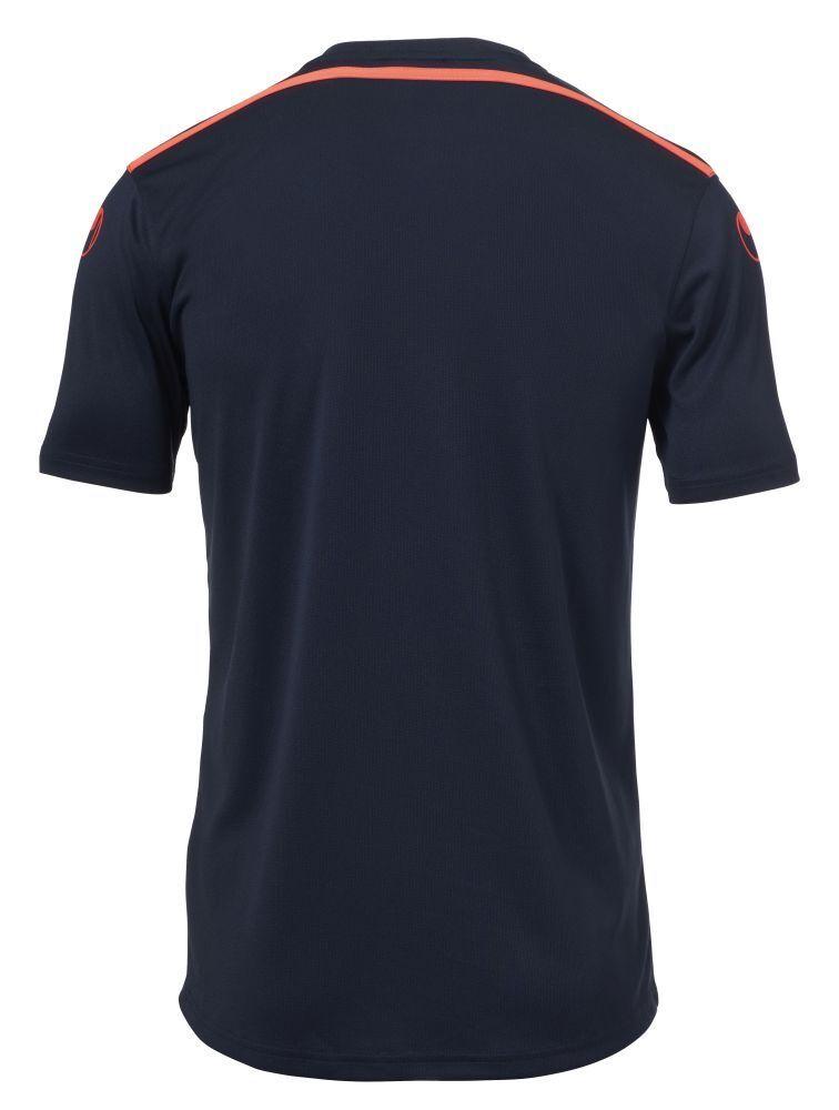 Uhlsport SCORE Kit a Maniche Corte Calcio Uomo Squadra di Calcio Corte Set Maglia e Pantaloni Marina Rosso 8b4036