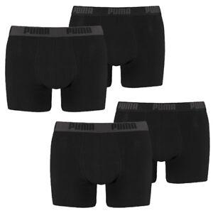 4 er Pack Puma Boxer shorts Schwarz Größe XXL Herren
