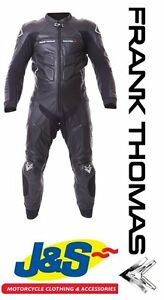 FRANK-THOMAS-QUALIFIER-1-PIECE-MENS-LEATHER-RACING-TRACK-DAY-MOTORCYCLE-SUIT-J-amp-S