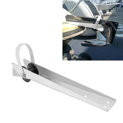390mm Self-Launching Bow Anchor Roller for Boat 316 Stainless Steel Yacht