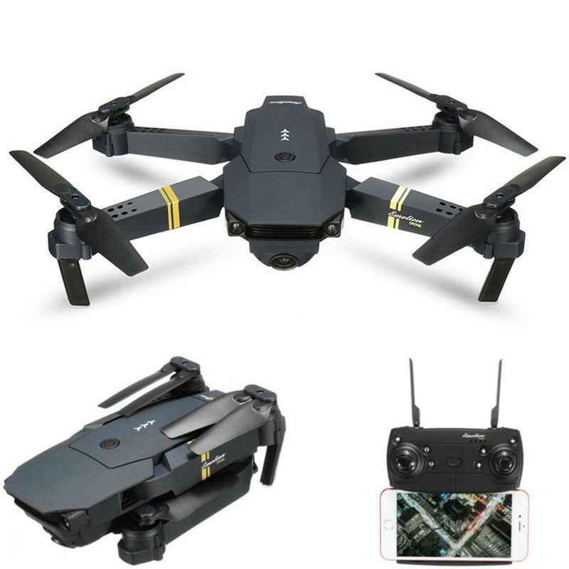 0,3/2/5MP Quadricottero Drone con Telecamera E58 WiFi FPV HD 720P Quadcopter