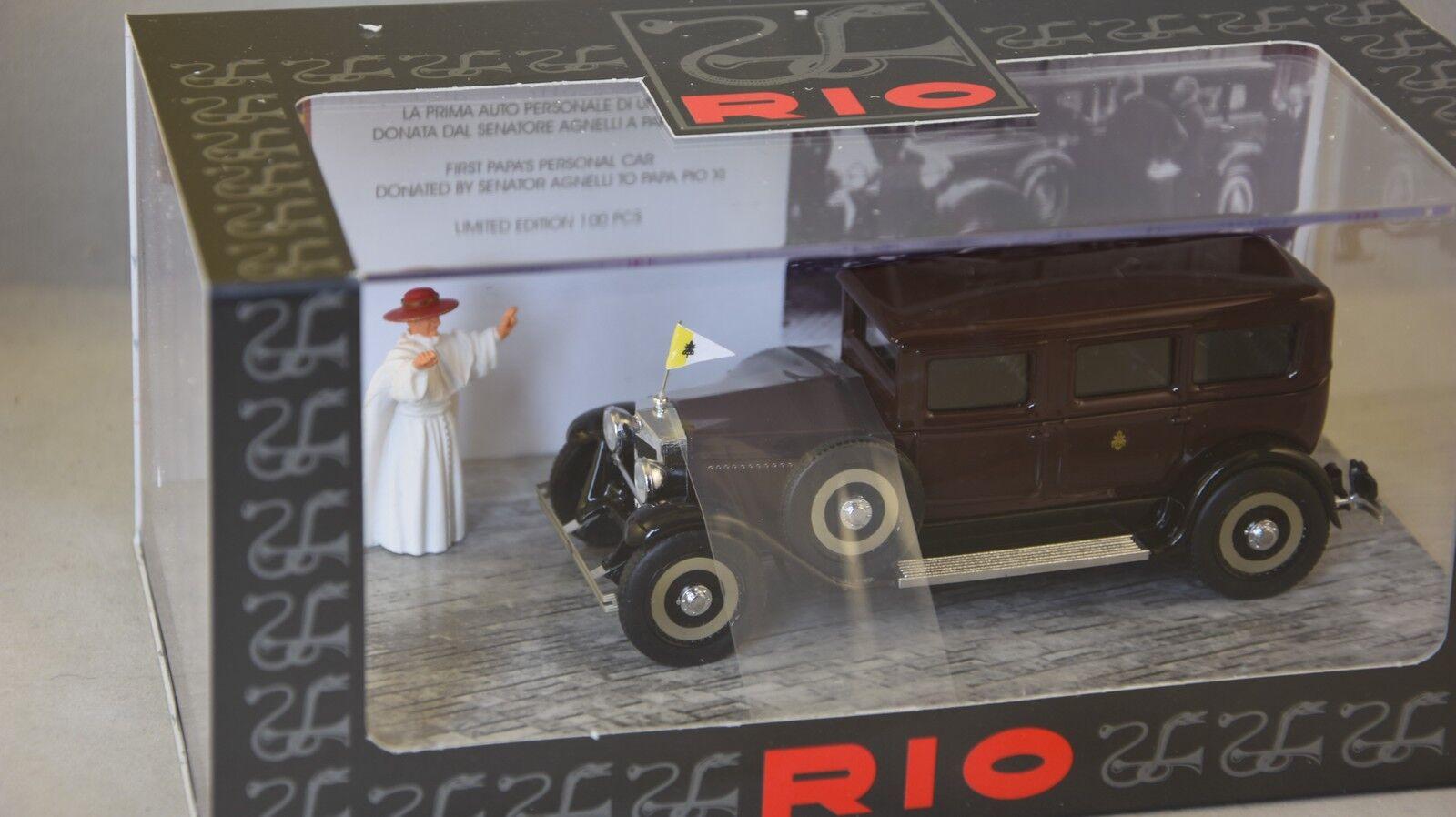 Rio RIO4480.P  Fiat 525 véhicule personnel du Pape Pie XI 1929  143