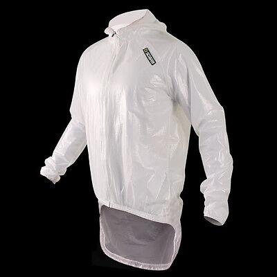 Sobike Radfahren Pro Regen Mantel Regenmantel-Amazon Weiß Klar