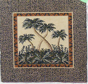 Image Is Loading PALM TREE TAPESTRY Tapestry Hanging Pillow Or Frame