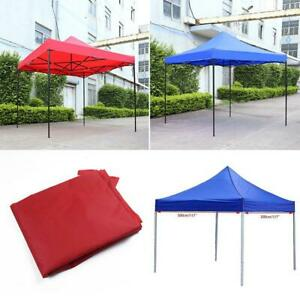 3-3M-Gazebo-Outdoor-Garden-Marquee-Party-Wedding-Tent-Canopy-Waterproof-Blue-Red