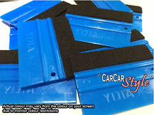 【with Felt】 PRO Edge Vinyl Car Van Bike Wrap Wrapping Squeegee Tool Scraper