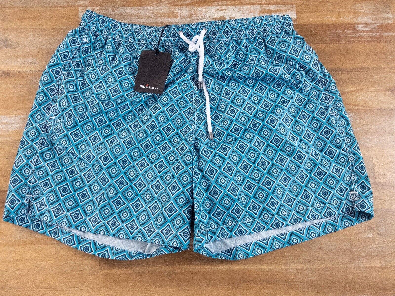 KITON Napoli swim shorts authentic - Size XXL - NWT