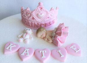 Swell Edible Princess Tiara Birthday Cake Topper Edible Crown Cake Topper Funny Birthday Cards Online Amentibdeldamsfinfo
