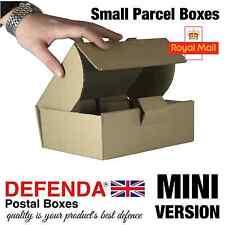 100 x mini dimensioni Royal mail piccolo pacco scatole Pip postale pacchetto 210mmx157mmx73mm