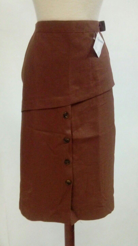 Bonita SKIRT women brown Size 44 NEW ref. 2.1.7
