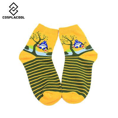 Korean Women's Harajuku Totoro Cotton Funny Socks Cartoon Cute Socks Fashion