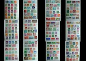 Large World Stamp Collection Luxemburg Switzerland United States & Latin America
