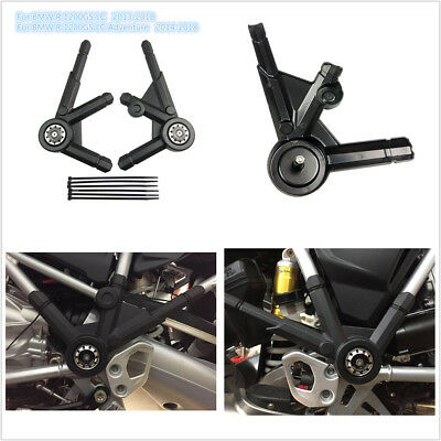 Left /& Right Frame Guard Protector Cover For BMW R1200GS LC 2013-2018 R1200GS Adventure LC 2014-2018