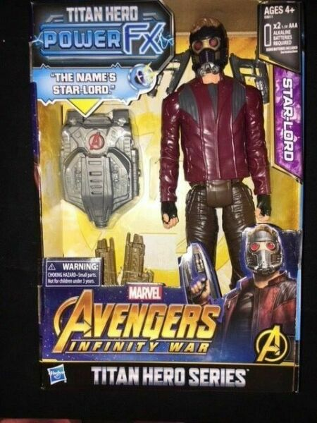 Avengers infinity war power titan hero power fx Star Lord  E06111030  Hasbro