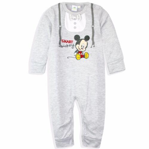 Disney Mickey Mouse Bebé Niños Algodón Mameluco jugar Traje Pelele espaciosas Caja De Regalo