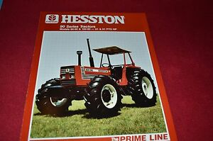 Details about Hesston 90-90 100-90 Tractor Dealer's Brochure 700704232C LCOH