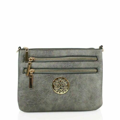 Ladies New Fashion Crossbody Bag Women/'s Evening Messenger Side Shoulder Bag UK